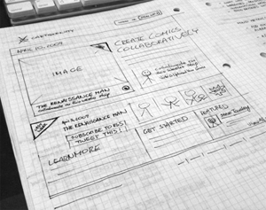 Web Development from wireframes